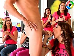3 movies - Bride to be and her horny friends go cock sucking crazy