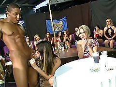 0  - Cock sucking sluts at this table!