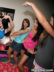 16 pictures - Horny college girls getting hazed!