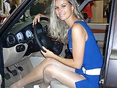 8 pictures - car show upskirt picture gallery