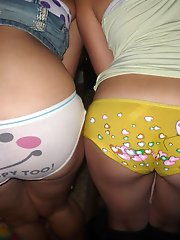 8 pictures - oops upskirt no panties picture gallery