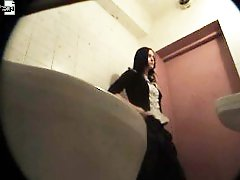 3 movies - Chicks get unlucky enough to pee in spycammed loo
