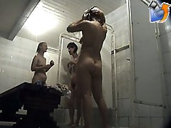 3 movies - Sweet fruits of some kinky shower voyeur's labor