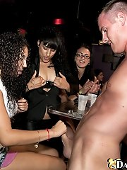 8 pictures - Crazy party girls go nuts over all the hung guys we brought out on this update