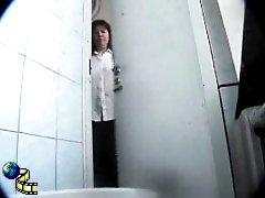3 movies - Spying after hot chicks in univercity toilet